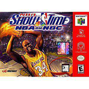 NBA Showtime NBA on NBC - N64 Game | Retrolio Games
