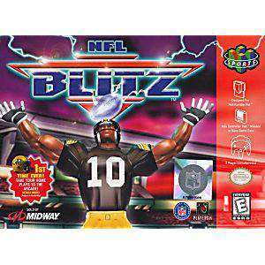 NFL Blitz - N64 Game | Retrolio Games