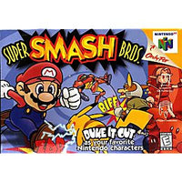 Super Smash Brothers - N64 Game