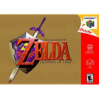The Legend of Zelda Ocarina of Time - N64 Game