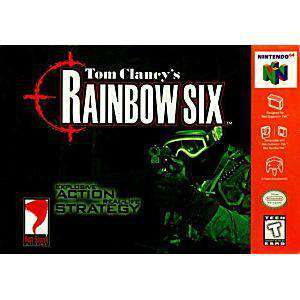 Tom Clancy's Rainbow Six Gray - N64 Game | Retrolio Games