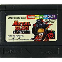 Metal Slug 1st Mission (EU Version) - Neo Geo Game
