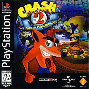 Crash Bandicoot 2 Cortex Strikes Back - PS1 Game | Retrolio Games