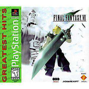 Final Fantasy VII Greatest Hits - PS1 Game | Retrolio Games