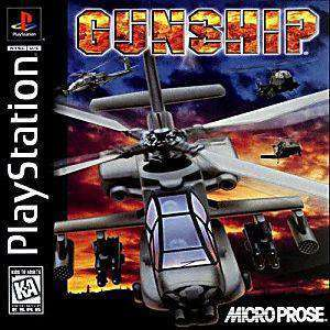 Gunship - PS1 Game | Retrolio Games