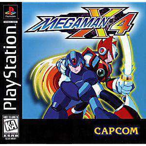 Mega Man X4 - PS1 Game | Retrolio Games