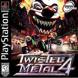 Twisted Metal 4 - PS1 Game | Retrolio Games