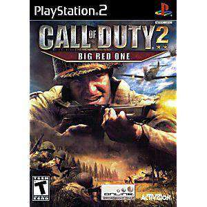 Call of Duty 2 Big Red One - PS2 Game | Retrolio Games