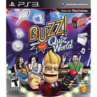 Buzz! Quiz World - PS3 Game | Retrolio Games