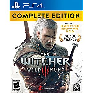Witcher 3: Wild Hunt Complete Edition - PS4 Game