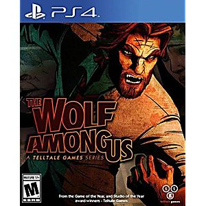 Wolf Among Us - PS4 Game