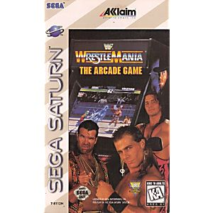 WWF WrestleMania The Arcade Game - Sega Saturn Game