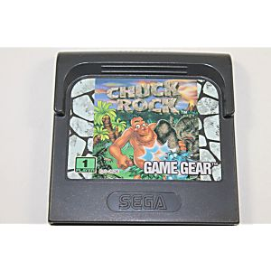 Chuck Rock - Game Gear Game
