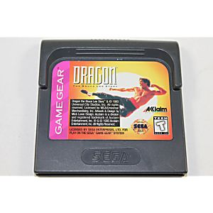 Dragon the Bruce Lee Story - Game Gear Game