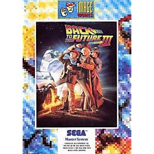 Back to the Future Part III - Sega Master System Game