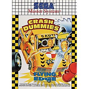 The Incredible Crash Dummies - Sega Master System Game