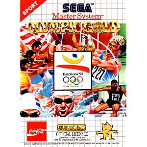 Olympic Gold Barcelona 92 - Sega Master System Game