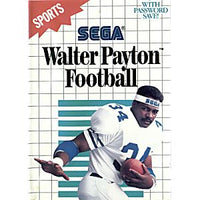 Walter Payton Football - Sega Master System Game