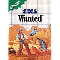 Wanted - Sega Master System Game