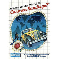 Where in the World is Carmen Sandiego - Sega Master System Game