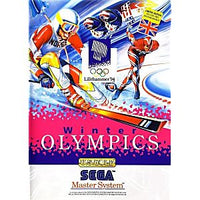 Winter Olympics - Sega Master System Game