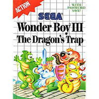 Wonder Boy III the Dragon's Trap - Sega Master System Game