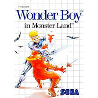 Wonder Boy in Monster Land - Sega Master System Game