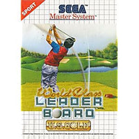 World Class Leader Board - Sega Master System Game