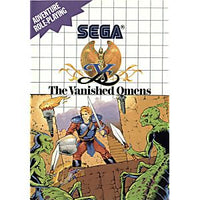 Ys the Vanished Omens - Sega Master System Game