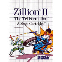 Zillion II the Tri Formation - Sega Master System Game