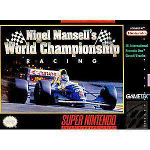 Nigel Mansell's World Championship Racing - SNES Game | Retrolio Games