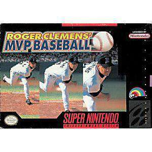 Roger Clemens' MVP Baseball - SNES Game | Retrolio Games