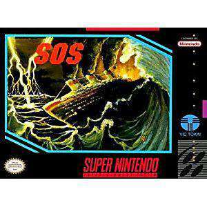 SOS - SNES Game | Retrolio Games