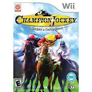 Champion Jockey: G1 Jockey & Gallop Racer - Wii Game | Retrolio Games