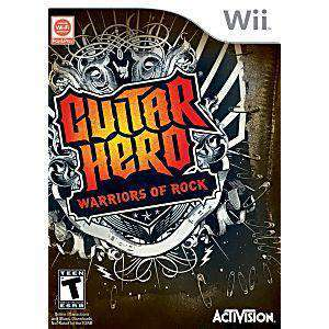 Guitar Hero: Warriors of Rock - Wii Game | Retrolio Games