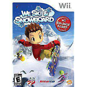 We Ski and Snowboard - Wii Game | Retrolio Games