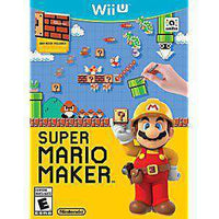 Super Mario Maker Game Only - Wii U Game | Retrolio Games