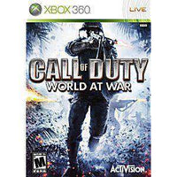 Call of Duty World at War - Xbox 360 Game | Retrolio Games