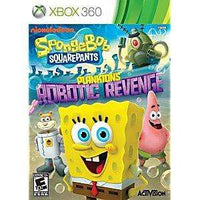 SpongeBob SquarePants: Plankton's Robotic Revenge - Xbox 360 Game | Retrolio Games