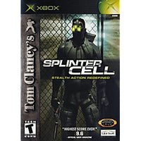 Tom Clancy's Splinter Cell - Xbox Game
