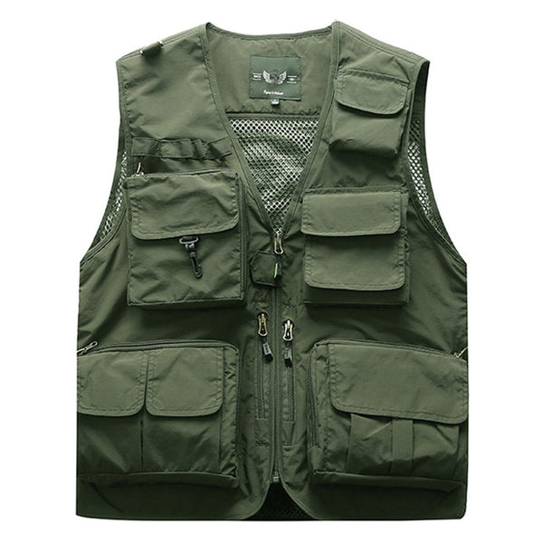 Outdoor Summer Cargo Tactical  men Outerwear Jacket Multi Pockets Sleeve jackets S -5XL plus size 6XL 7XL M7898