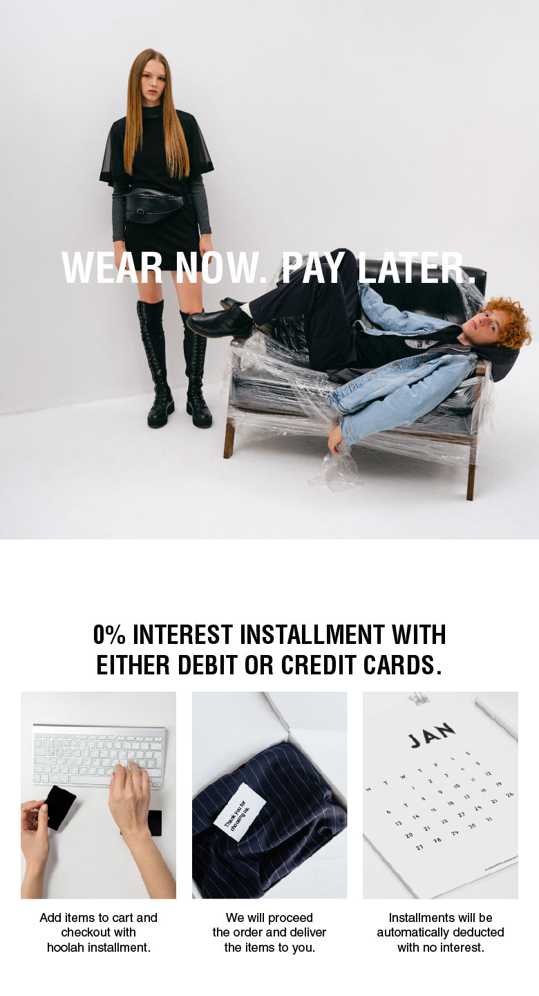 Wear Now. Pay Later.