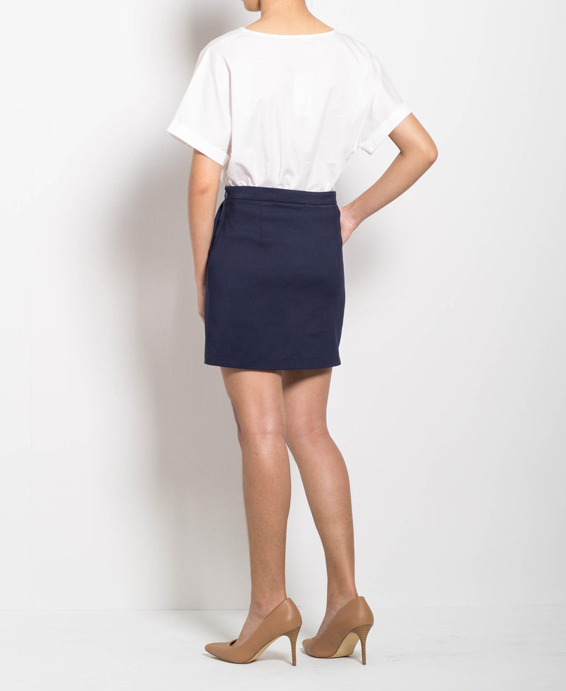 Women Short Skirt - Navy