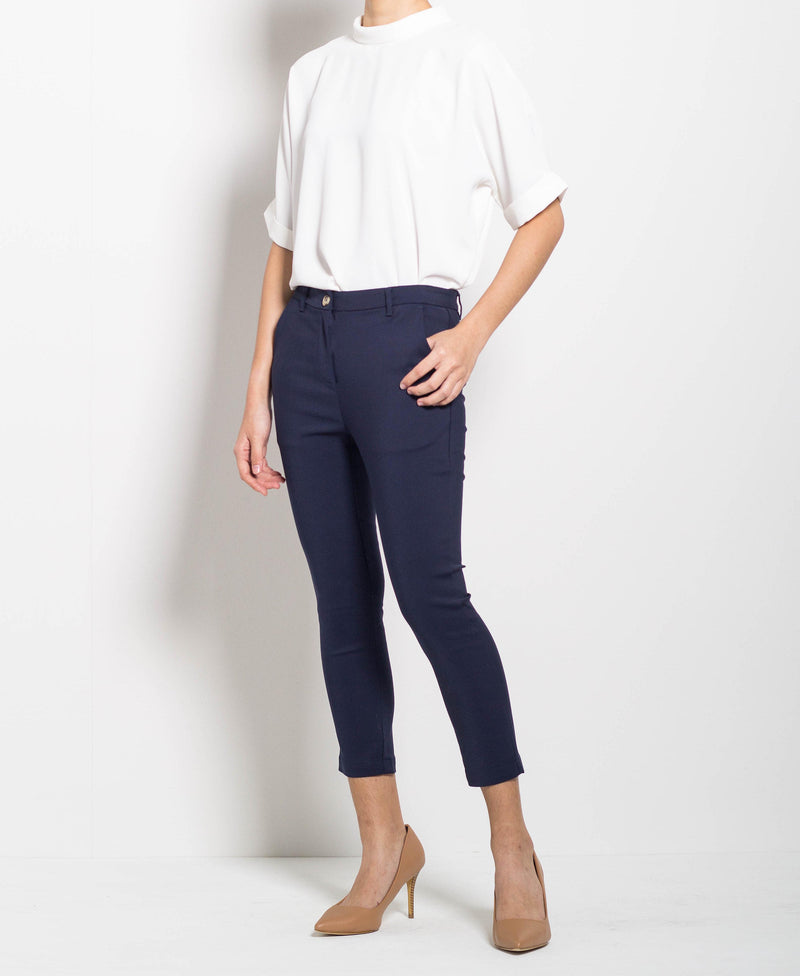 Women Long Pants - Navy