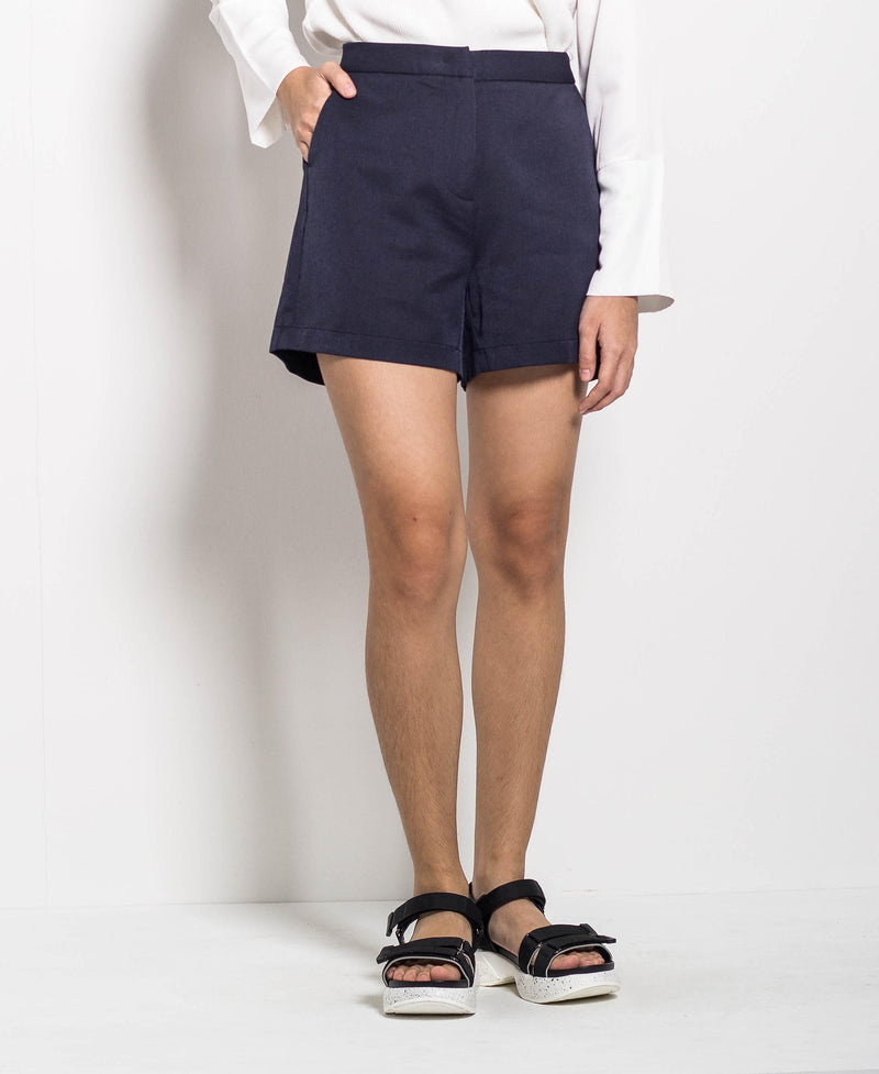Women Short Pants - Navy