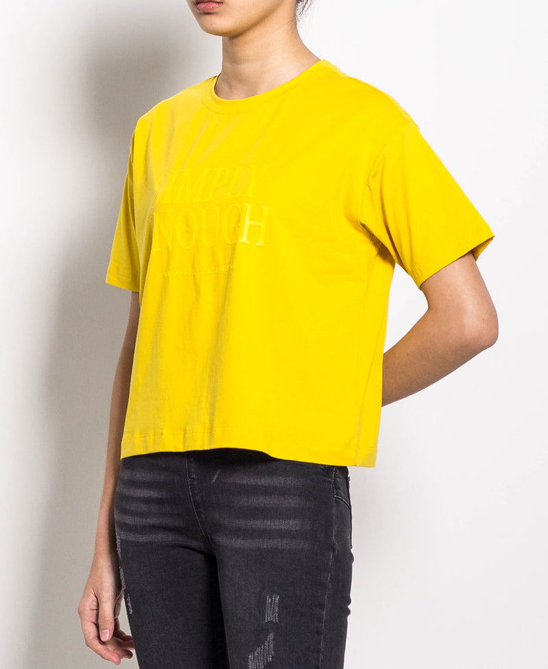 Women Short Sleeve Tee - Yellow