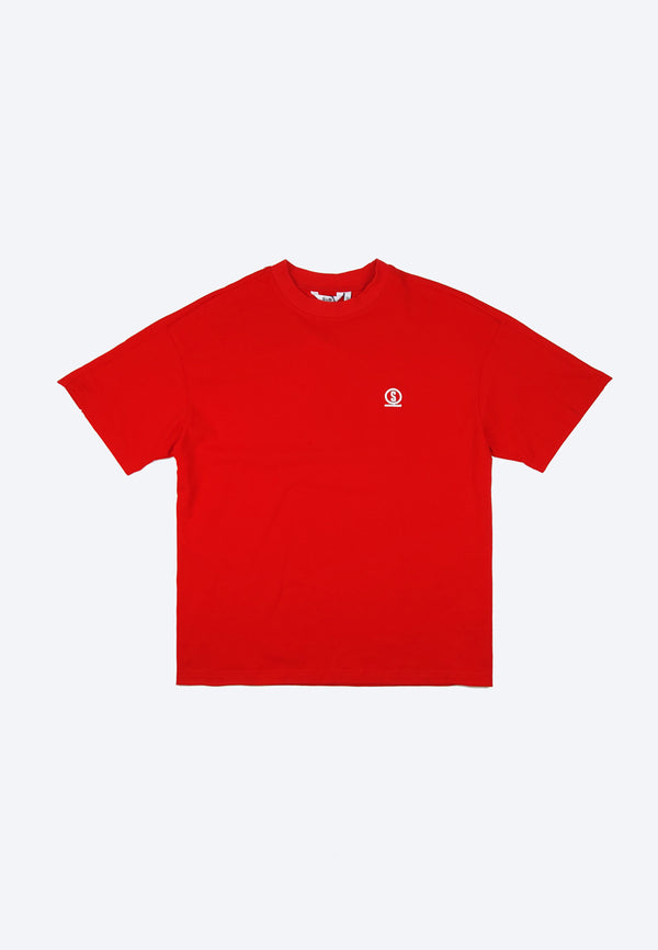 Men Short-Sleeve Fashion Tee - Red