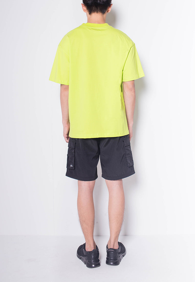 Men Short-Sleeve Fashion Tee - GREEN - H0M691