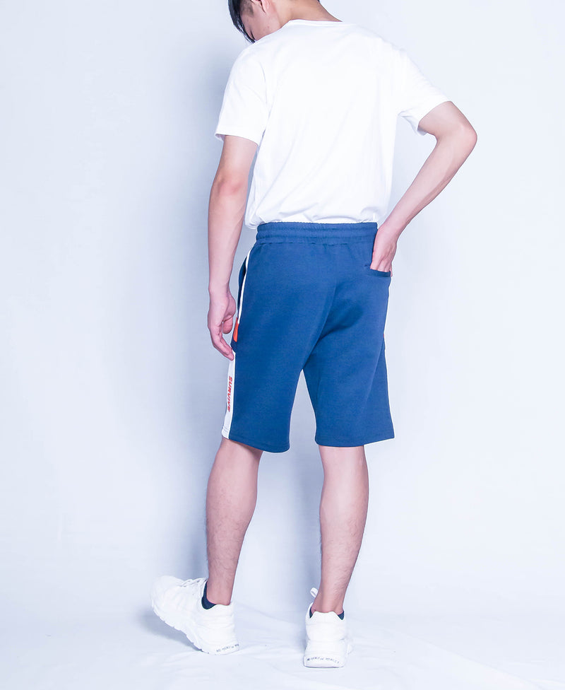 Men Knit Short Jogger - Navy - H9M243