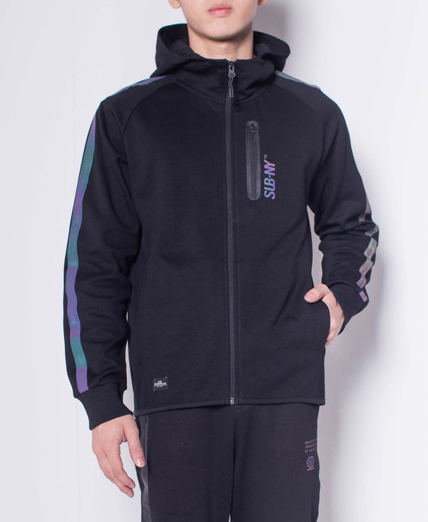 Men Hoodie Jacket - Black